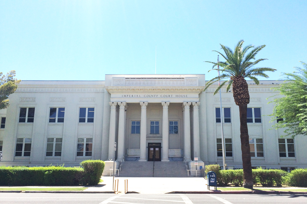 Imperial County Courthouse Earthquake Repairs