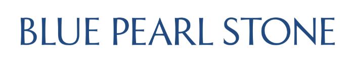 Blue Pearl Stone Logo Visual Identity