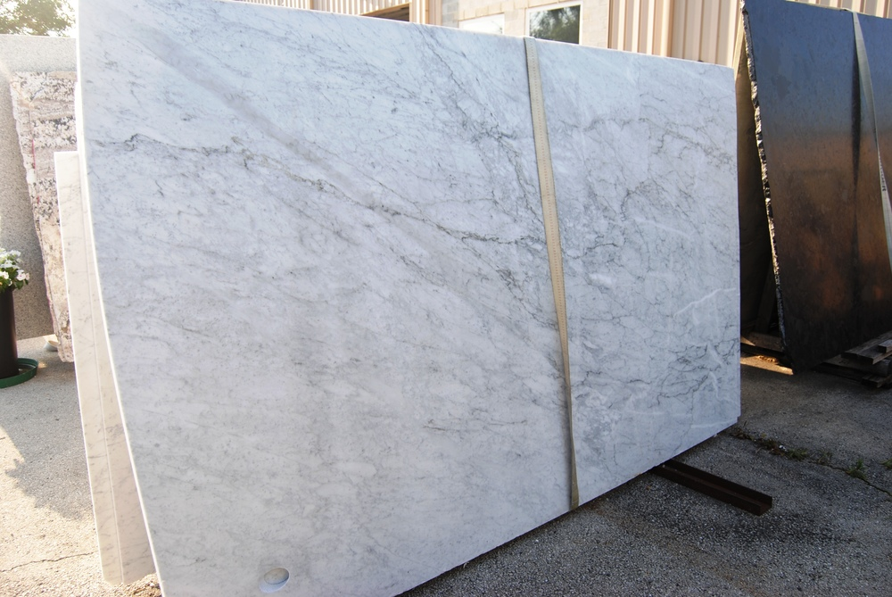 Carrara - Marble - Leather