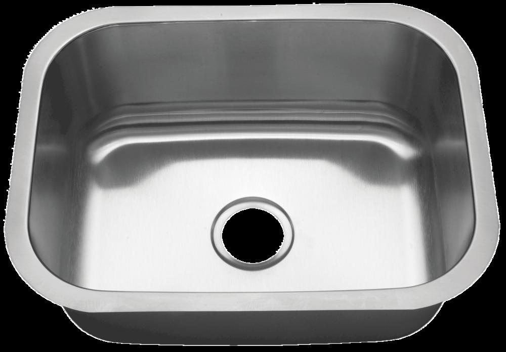 Tritan Elmont U2013 16 Gauge Stainless Steel Medium Single Bowl Sink