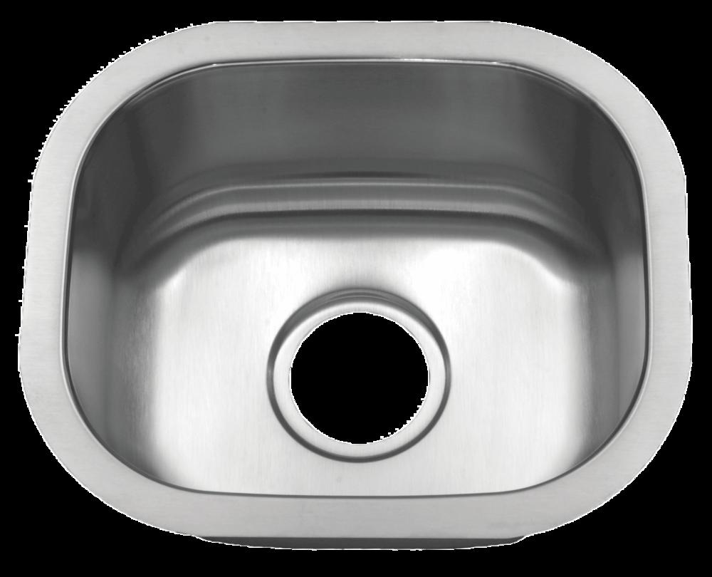Tritan Sterling u2013 16 Gauge Stainless Steel Small Single Bowl Sink u2014 Blue Pearl Stone  sc 1 st  Blue Pearl Stone & Tritan Sterling u2013 16 Gauge Stainless Steel Small Single Bowl Sink