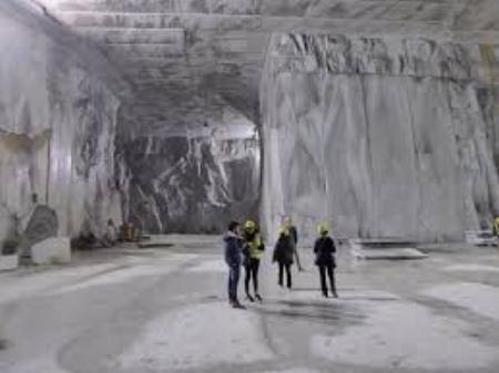 Inside a Carrara Mountain