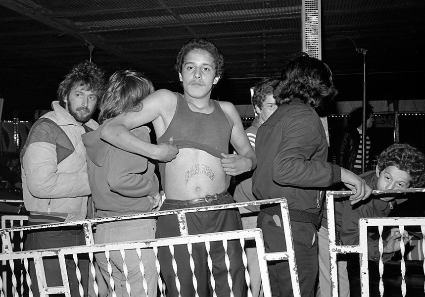 Ted Pushinksy <br>Folsom Street Fair, 1978<br> Gelatin silver print, 16 x 20 in. Ed. of 5 + 2 AP