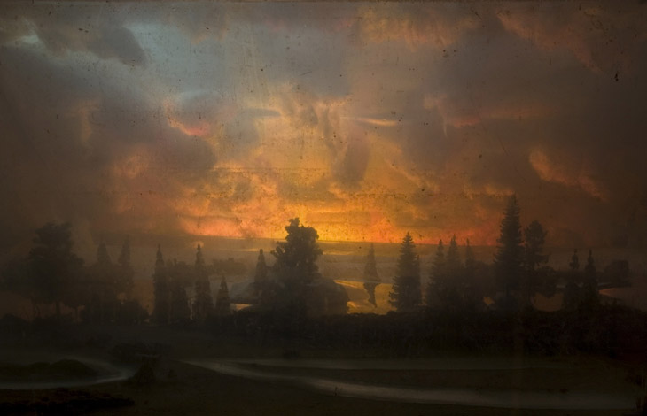 """Sunset 02"" (2007)<br> C-print, edition of 10, 13 x 19 in."