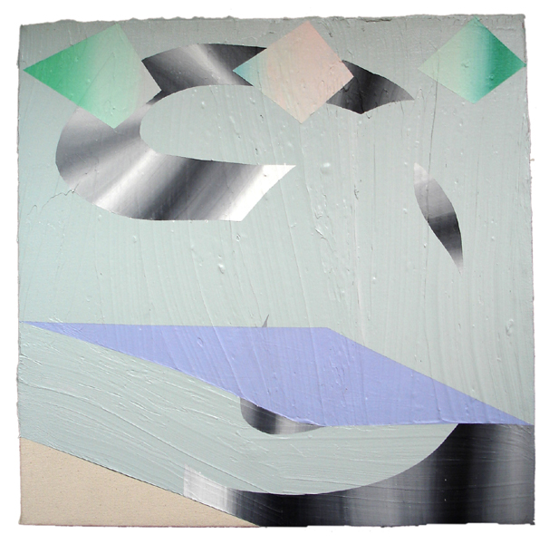 Lauren Silva Untitled (2011) Acrylic on canvas, 22 x 22.5 in.