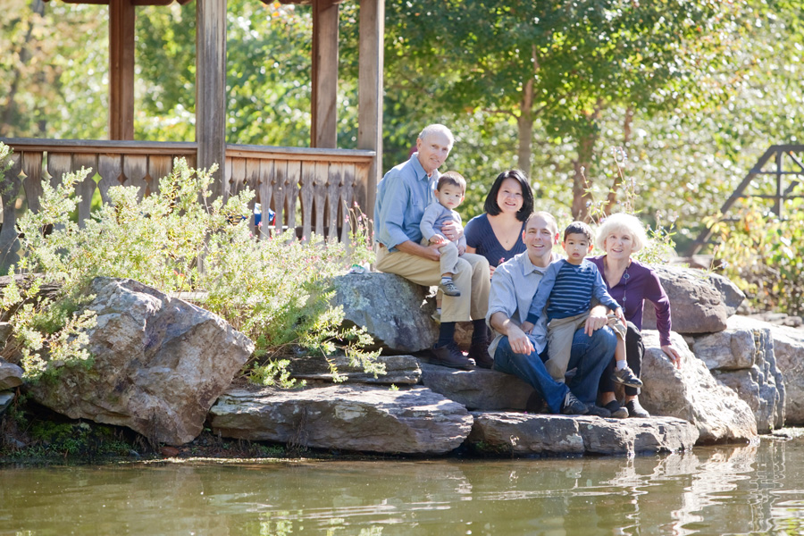 Green Spring Family photography