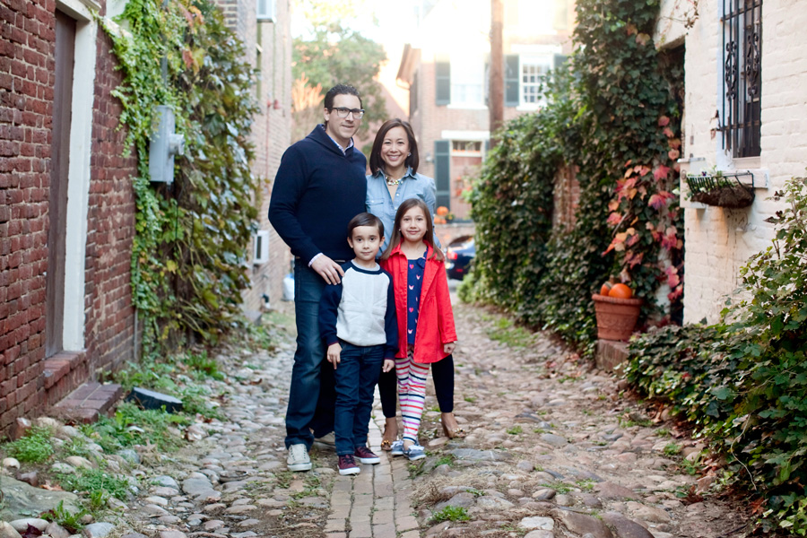 old town family photography