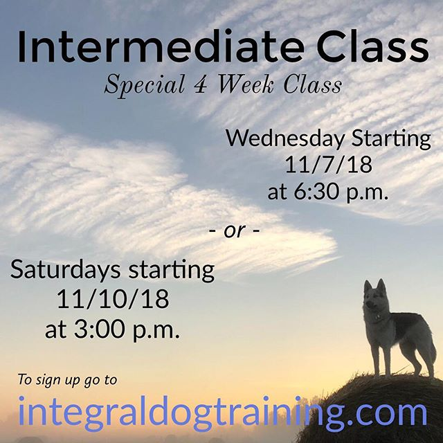 Classes are starting!