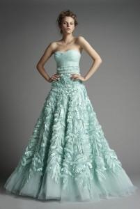 mint, bride dress, jazzy affairs