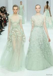 mint bride dresses, jazzy affairs