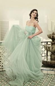 mint, bride dresses, jazzy affairs