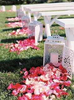 www.kaylabellevents.com, wedding aisle lantern