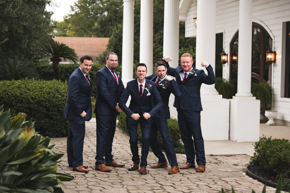 best wedding groom poses houston wedding photographer groomsmen conroe helens glen kent matthews home chapel wedding
