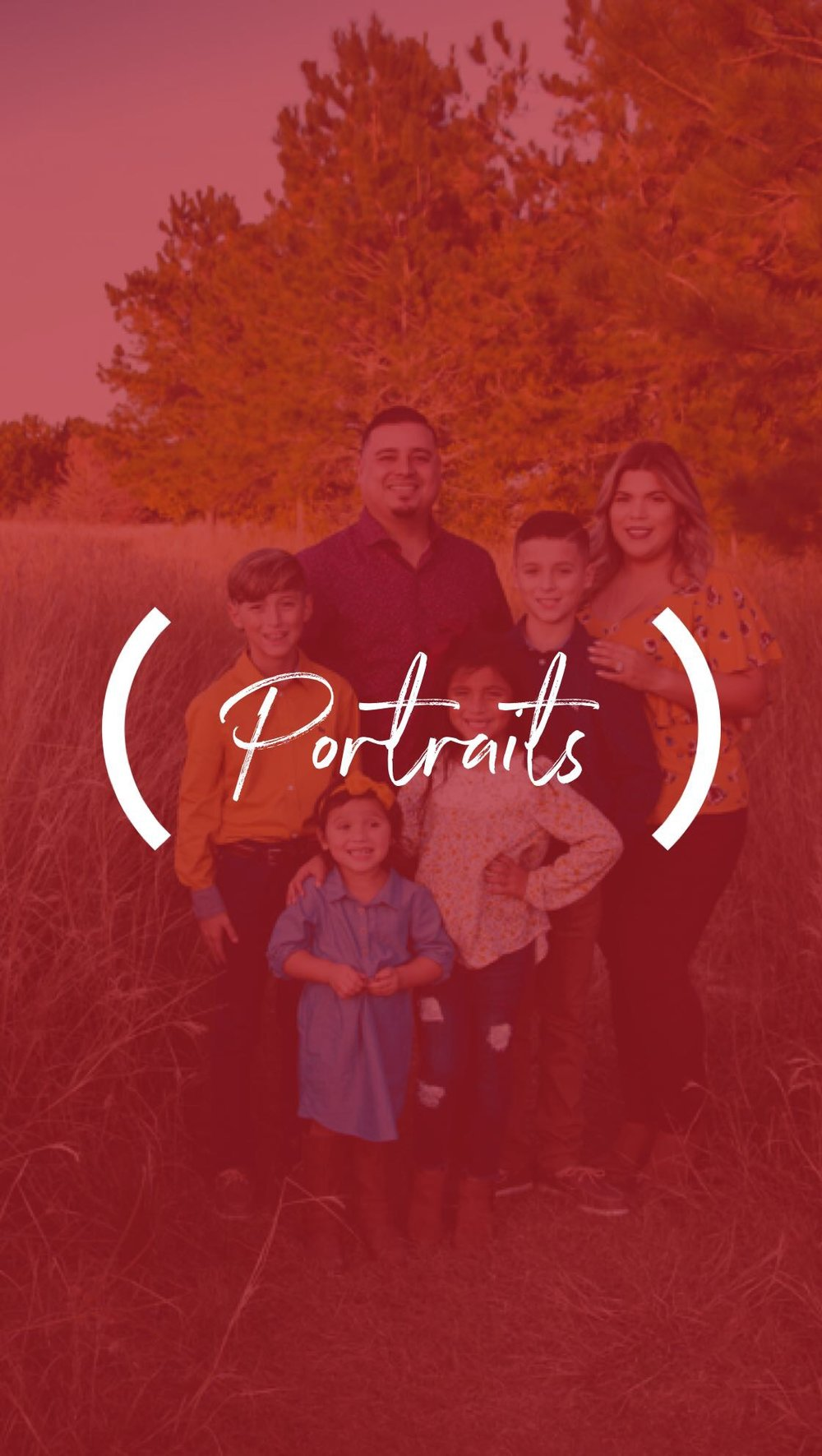 MINIMUM DONATION $50 - Portrait sessions are perfect for Seniors, Families, or Couples.Make a Donation for the Minimum amount listed (or more), and receive the following :Mini Session 20 minutes | 20 Digital images.Minimum Donation $50Session valid until March 30th 2019