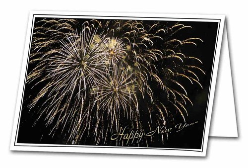 new years fireworks scripture greeting card