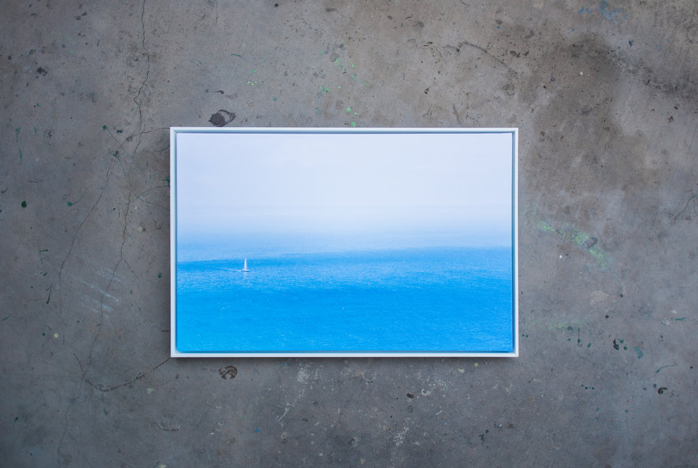 """Horizon"" 24x36 Framed Matte Fine Art Canvas 2018"