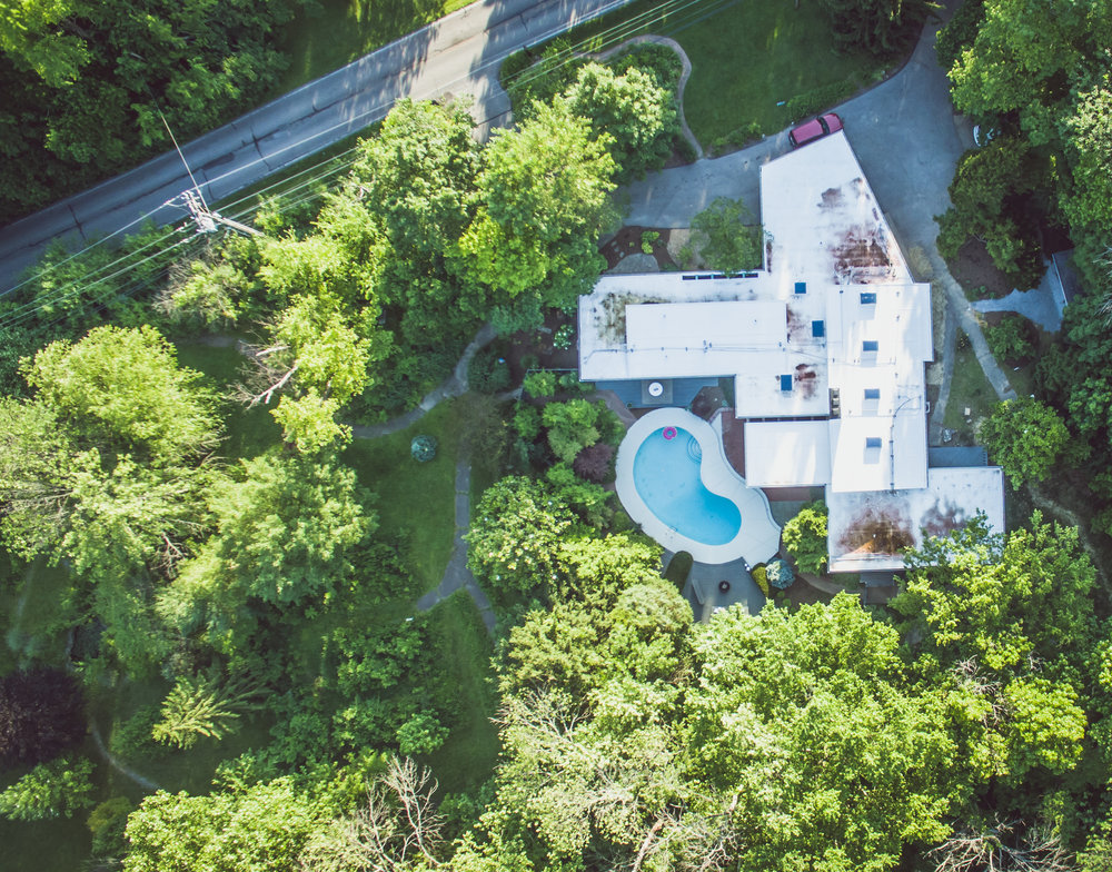 Drone shot of some of the property... yes there's more!