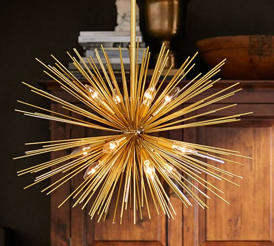 Explosion Chandelier from Pottery Barn