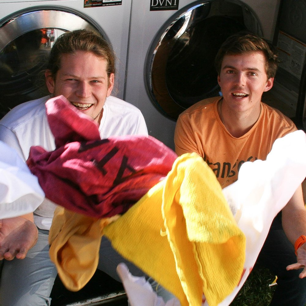Nic Marchesi & Lucas Patchett Orange Sky Laundry