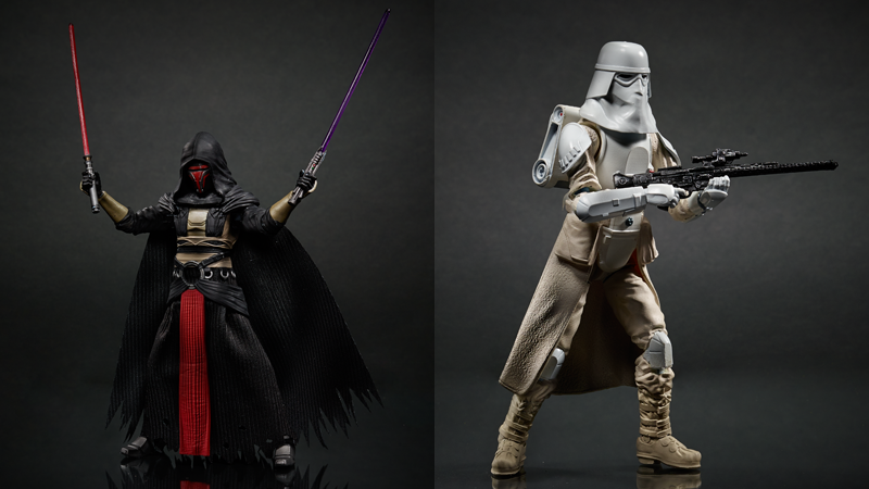 Darth Raven and SnowTrooper