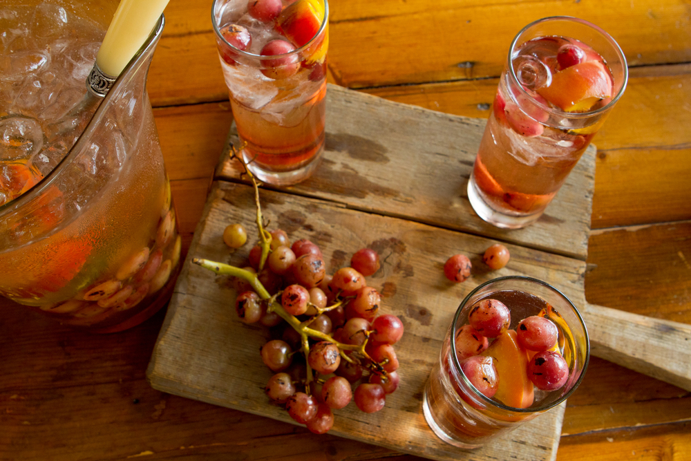 Grilled Grape Cocktail