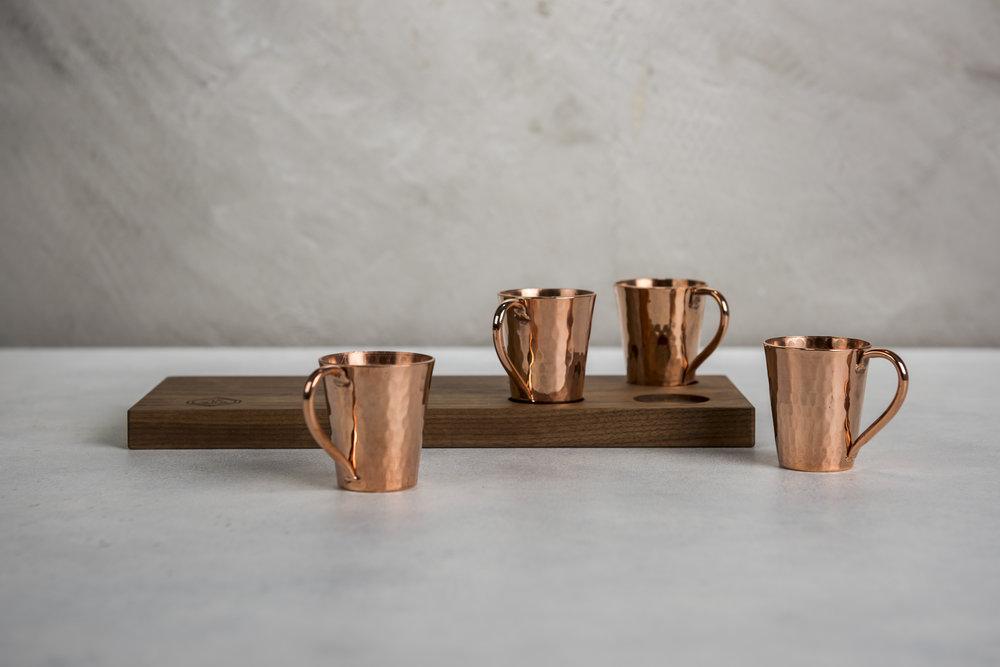 Copper Shot Glasses