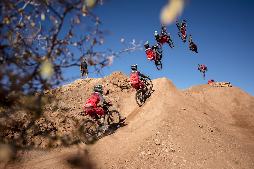 Brandon Semenuk Backflip Sequence