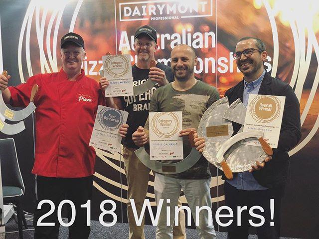 🏆🏆🏆#dairymontaustralianpizzachampionships2018 #winners🏆 #areyougame