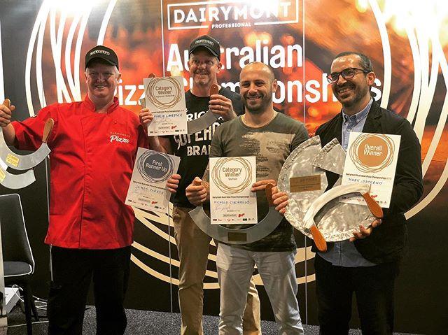 😍#winners2018 #australianpizzachampionships