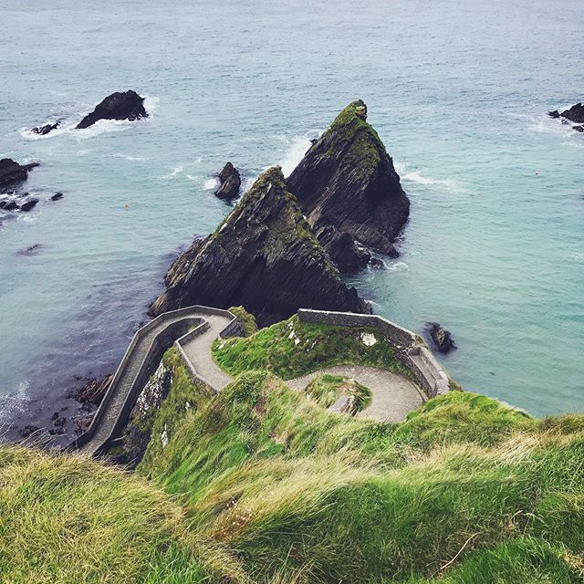 A favourite spot from shooting on the Irish coastline 💚