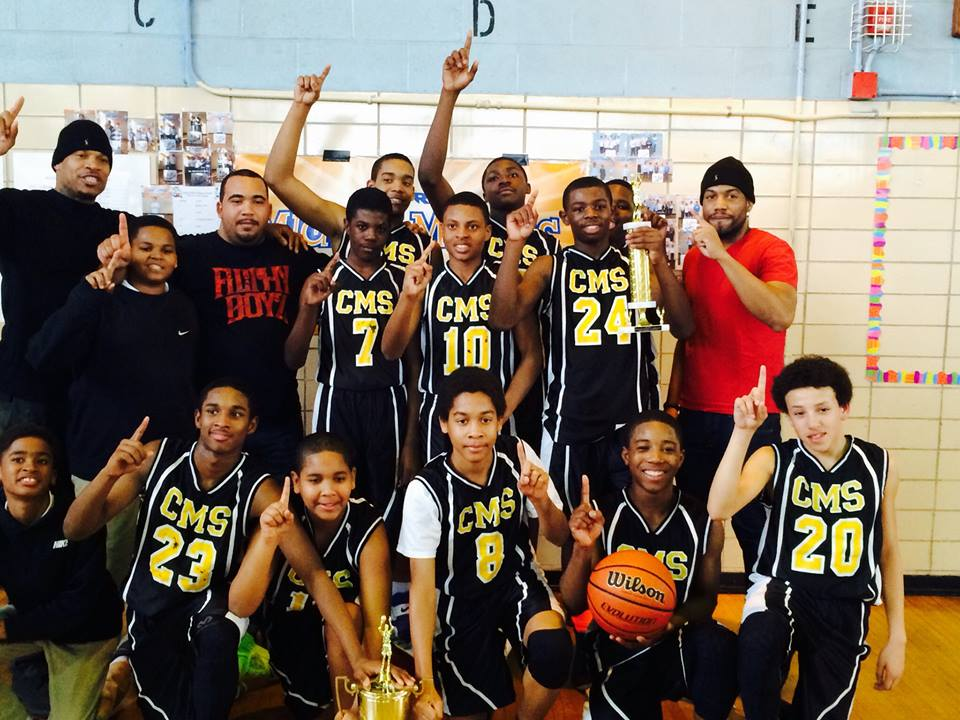 The 2013-2014 New York City Middle School Basketball Champions