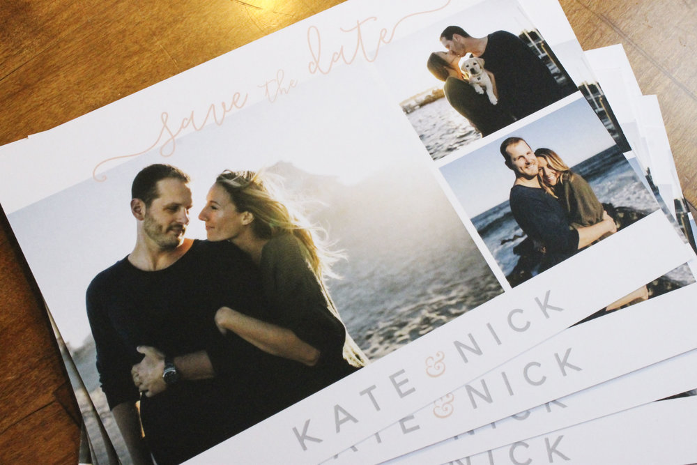Beach Minimal Save The Dates