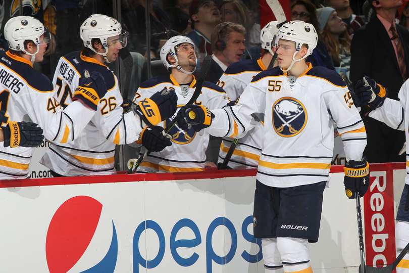 Fists of Finnish Fury. Photo from Sabres.com