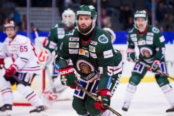 Mike Weber played on Dahlin's team in Sweden last season. Also, dont forget where we came from. -  Courtesy Frolunda HC