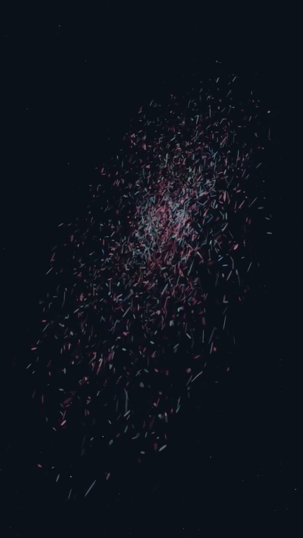 """""""Bonfire of Time II"""" (excerpt) by Wenxin Zhang  New Year's Day"""