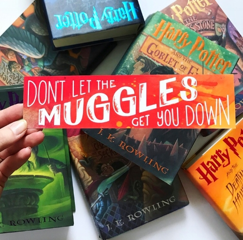 muggles bookmark nerdy post.JPG