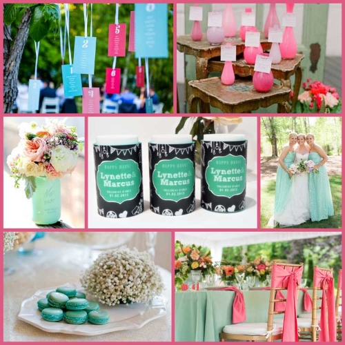 persian_green_pink_white_wedding_stubby_holders.jpg
