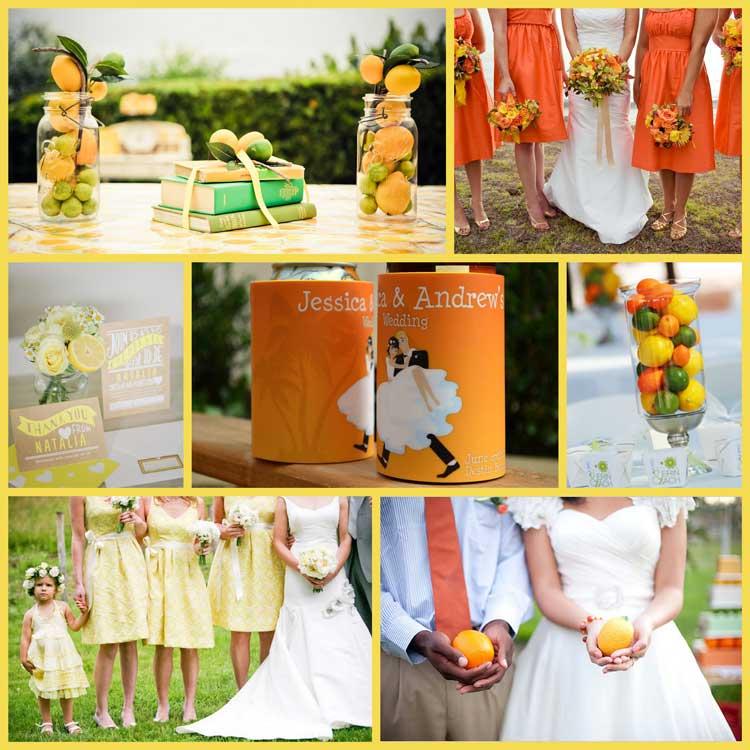 orange and green wedding theme images wedding decoration ideas