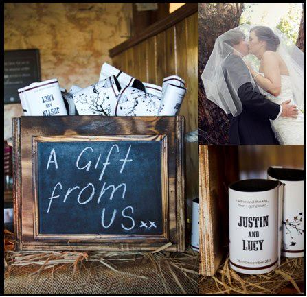 Chalkboard Themed Ideas For Your Wedding And Wedding Stubby Holders