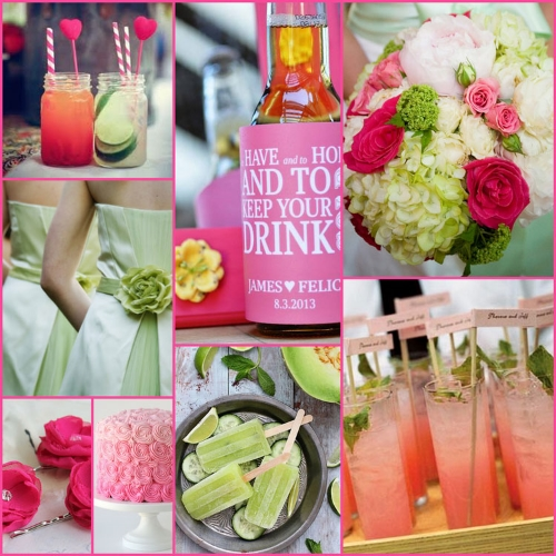 Summer Wedding Stubby Holder Ideas Colours And Accesories Coolaz