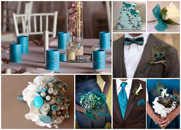 Teal - works well with neutrals like greys and blacks - but also soft browns too - think latte and cappuccino hues