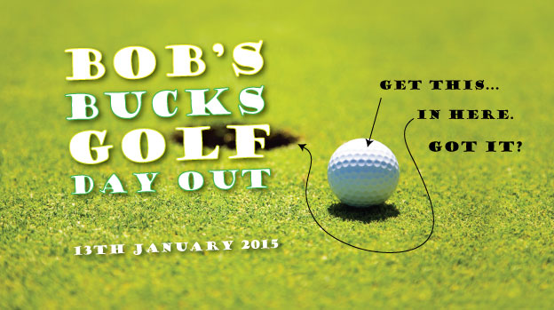 Golf, the perfect way to while away a perfectly good afternoon with our revamped golfing bucks stubby holder