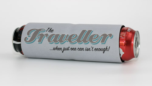 Travel without getting thirsty with our new DBL stubby holder!