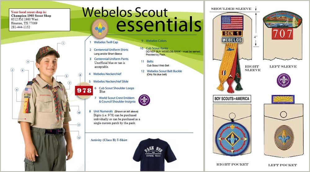 Webelos I Cub Scout Pack 283 Chapel Hill Nc