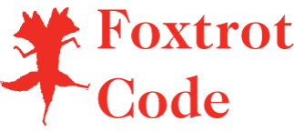 FoxtrotCode_Red_Square_w_Word_Mark-h144px.png