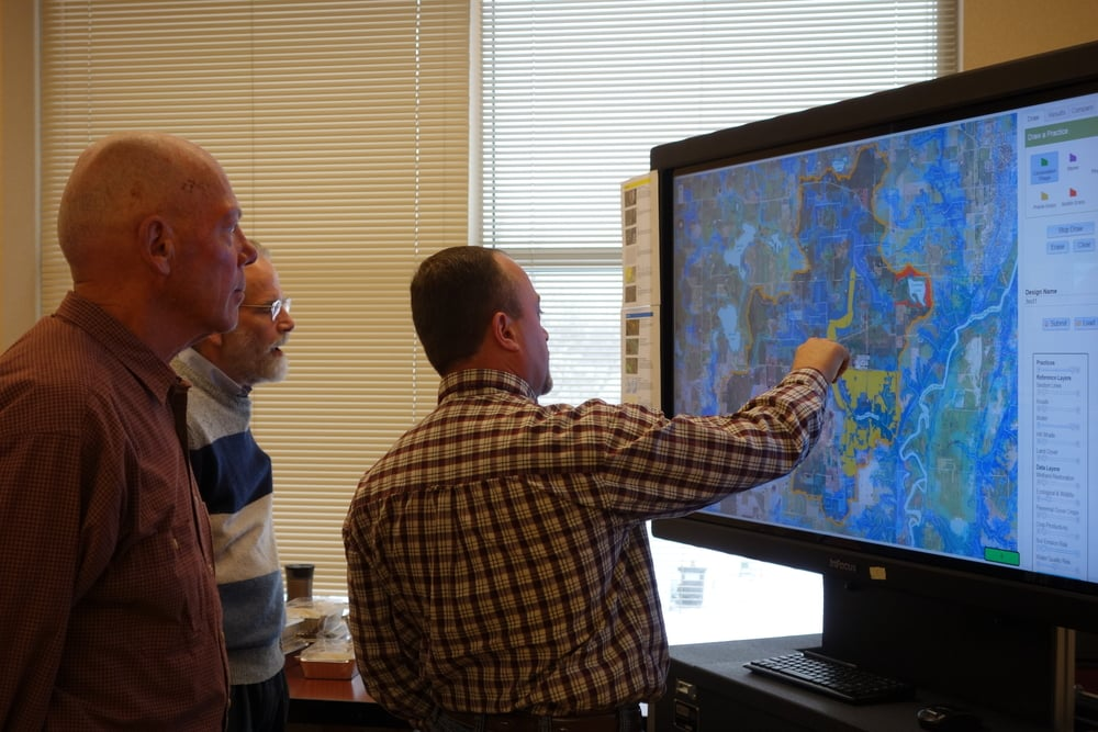 In December 2015 participants got hands-on with the Collaborative GeoDesign tool for the first time.