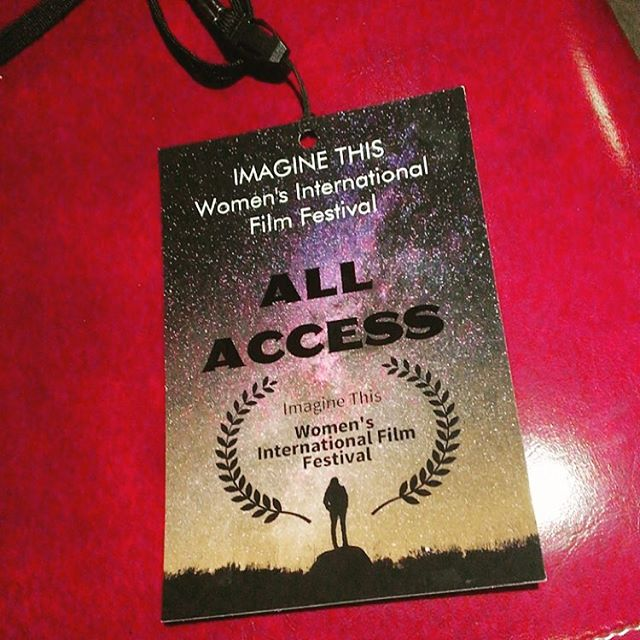 I am honored to be at the Imagine This Women's International Film Festival in Brooklyn where my film Bloom is screening. I'm so excited to watch all of these amazing films and meet some incredible women 🙌🏼 . . . #ccad #ccadart #ccadedu #ccadfilm #ccadcinematicarts #behindthescenes #film #filmmaker #filmschool #filmstagram #filmstudent #columbusfilm #supportlocal #supportlocalfilm #supportlocalart #bts #filmmaking #ccadcinematiccollective #ccadlasts #ccad2017 #itwiff #imaginethiswiff