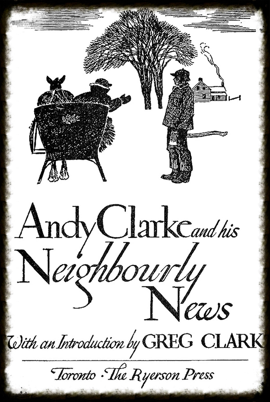 Such was Clarke's popularity that a number of his tales made it into a memorial book.  Photo courtesy McGraw-Hill Ryerson Limited