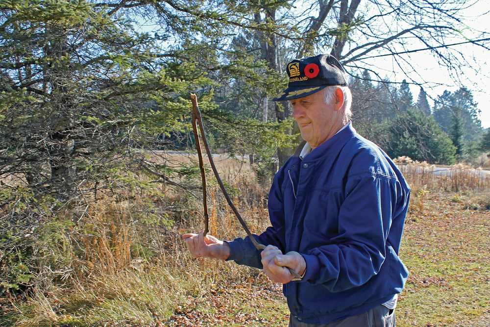 North Hastings resident Floyd Shatraw estimates he's witched more than 200 wells over the past 65 years – with 100 percent accuracy.