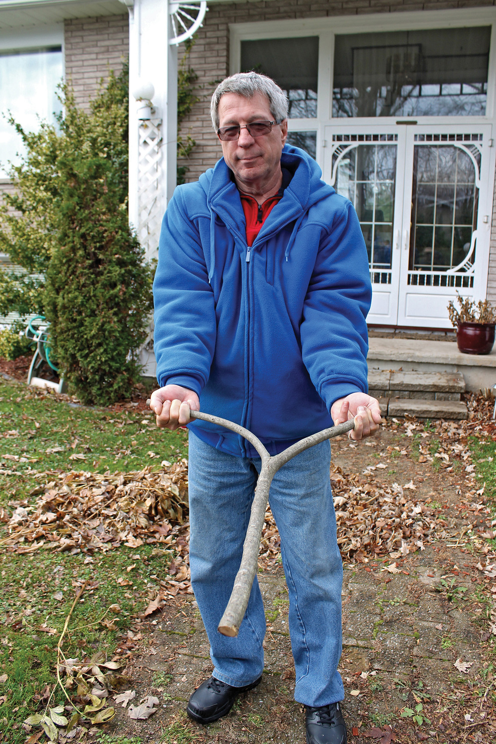 Marmora's Doug Alcock was taught how to witch by his mother when he was 14 years old.